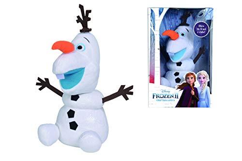 Simba Disney Frozen Olaf Interattivo 30 cm, 3 Anni, 6315876938009