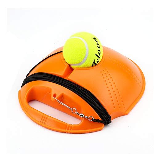 Solo Tennis Trainer Rebound Ball, met String Tennis Trainer Rebounder Tennis Oefenmateriaal, Het is niet nodig om de bal op te pakken die vaak wordt gebruikt voor tennis Beginners Training
