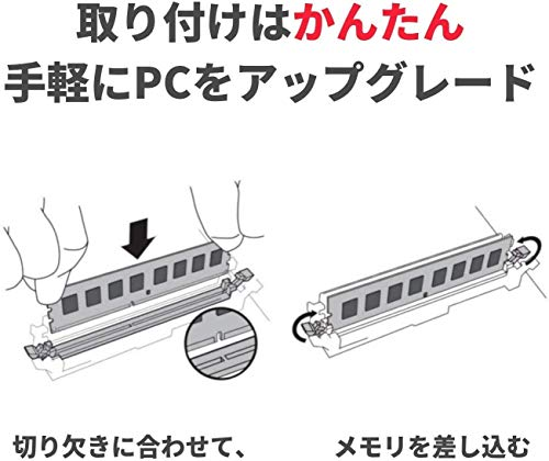 『CFD販売 デスクトップPC用メモリ PC4-17000(DDR4-2133) 8GB×2枚 288pin DIMM (無期限保証)(Panramシリーズ) W4U2133PS-8G』の3枚目の画像