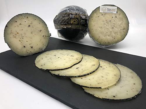 Queso de oveja madurado con Trufa Negra. Tuber melanosporum. Producto de Teruel, España - 450 gr