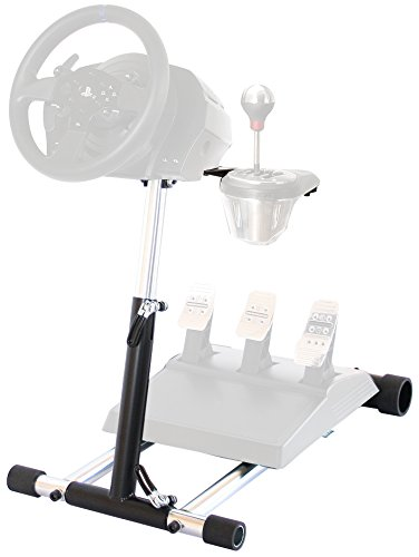 Wheel Stand Pro TX Deluxe Steering Wheelstand Compatible With Thrustmaster T500RS, T300RS, TX458, TS-TW, TS-PC, TX Leather,T150, T150 Pro, GT, T-GT and TMX/TMXPRO. V2. Wheel & Pedals Not included