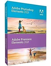 Adobe Photoshop Elements 2021 & Premiere Elements 2021, Box Versie, 1 Gebruiker, Win/Mac, Engelstalige Versie