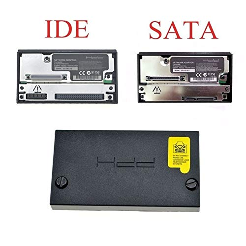 XIAOFANG Sata Network Adapter Adapter for Sony PS2 Fat Spielkonsole IDE Sockel HDD SCPH-10350 for Sony Playstation 2 Fat Sata Sockel (Color : SATA Interface)