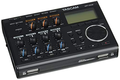 Tascam DP-006 – Pocketstudio digitale a 6 tracce