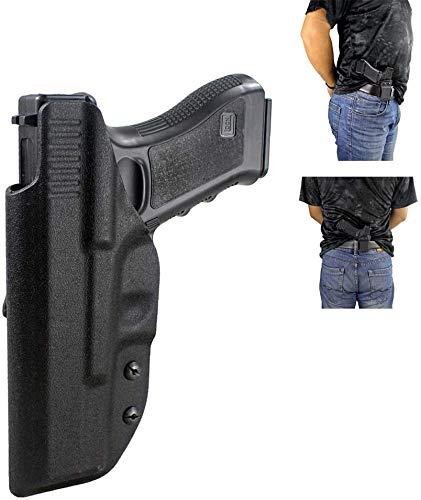 Gexgune Jagd Glock Holster verdeckt tragen Kydex im Bund Holster für G17 G22 G31 rechte Hand verwenden