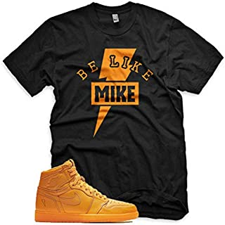 BE LIKE MIKE T Shirt for Jordan 1 Retro Gatorade Orange Peel Purple Blue Lime