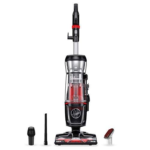 Hoover MAXLife Pro Pet Swivel HEPA Media Vacuum Cleaner, Bagless Upright for Pets Hair and Home, Black, UH74220PC (Renewed)