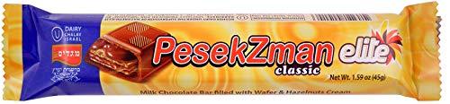 Elite Pesek Zman (Time Out) Kosher Chocolate Bar - Pack of 12