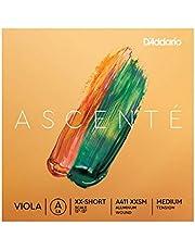D'Addario Ascenté. Cuerda A para viola, escala extraextracorta, tensión media