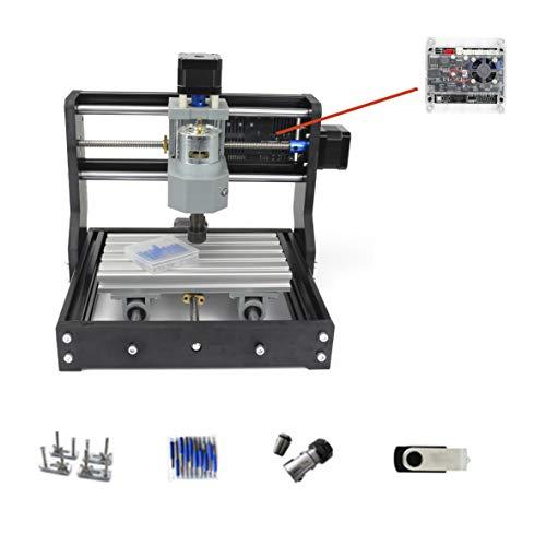 RATTMMOTOR CNC fresadora 1610 Pro 3 ejes GRBL Streurung ER11 Engraver fresadora para madera PVC PCB CNC fresadora DIY grabado