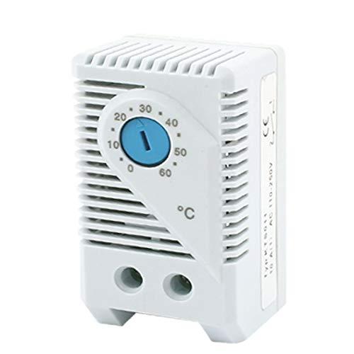 New Lon0167 KTS011 0-60C Destacados Interruptor del termostato eficacia confiable de control de temperatura normal abierto(id:ecc 09 27 bb0)