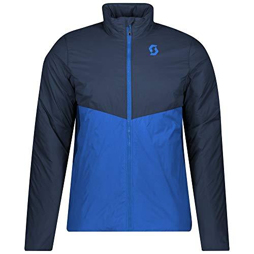 Scott M Insuloft Light PL Jacket Colorblock-Blau, Herren PrimaLoft Jacke, Größe S - Farbe Dark Blue - Skydive Blue