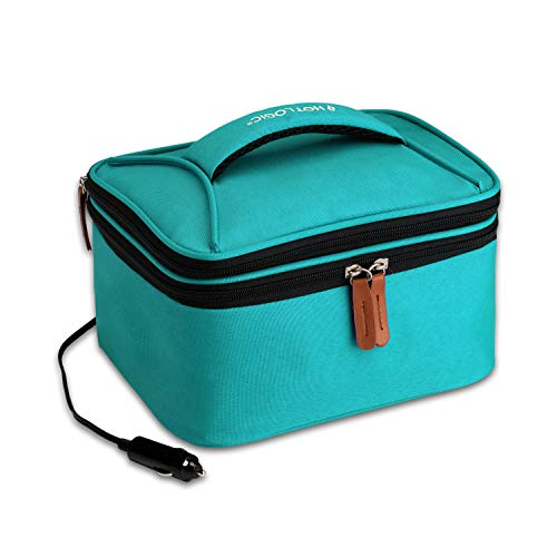 HotLogic 16801174-TL Food Warming Tote Lunch Bag Plus 12V, Teal