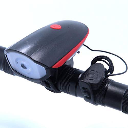 Luzde Bicicleta 2 IN 1 LED Luz de Bicicleta con zumbadores eléctricos...