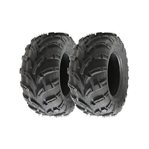 Neumáticos para quad 25x 10-12, 6 capas, 0,5 bar, con marcación E, legales para carretera, 2 unidades