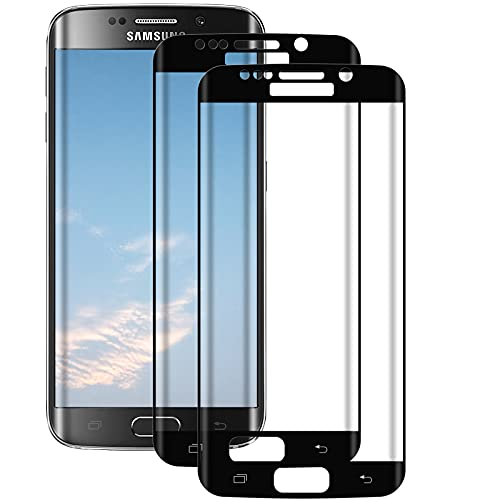 FayTun Lot de 2 films de protection pour Samsung Galaxy S7 Edge, Ultra HD, anti-bulles, anti-rayures