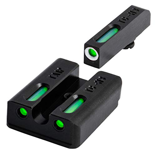 TRUGLO TFX Tritium and Fiber-Optic Xtreme Handgun Sights for Taurus Pistols, Fits Millenium G2, 709 Slim and 740 Slim Models