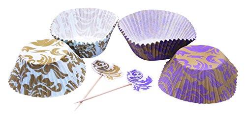 DeColorDulce sg1220 Jeu Capsules Nespresso et banderitas, Papier, Multicolore, 20 x 12 x 3 cm, Lot de 24