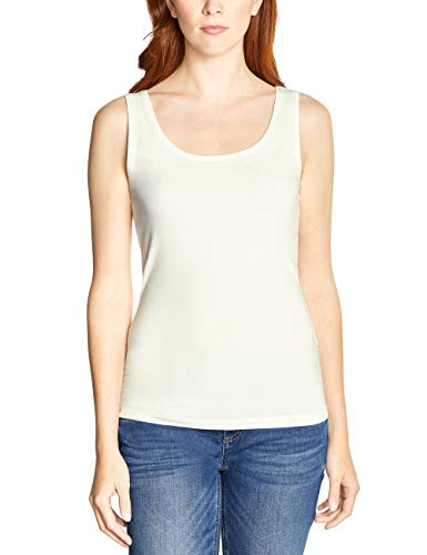Street One 313768 Anni Camiseta sin Mangas, Blanco (Off White 10108), 42 (Talla del Fabricante: 40) para Mujer