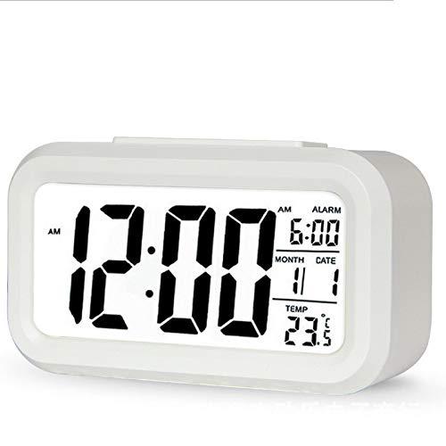 Reloj Luminoso Inteligente AMTN para niños, Reloj Despertador electrónico Digital LED Creativo