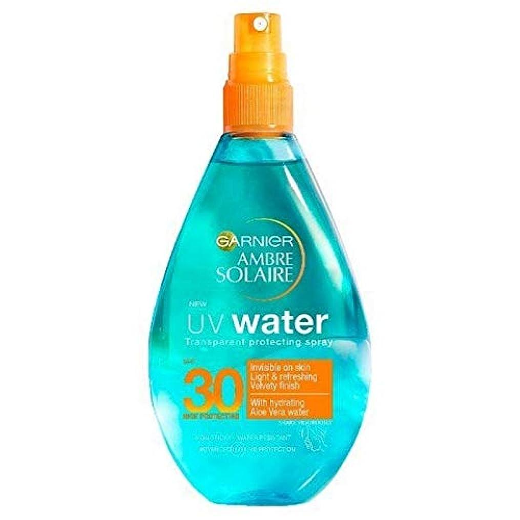 当社減らす講義[Garnier ] アンブレSolaire紫外線水明確な日クリームスプレーSpf30 150ミリリットル - Ambre Solaire UV Water Clear Sun Cream Spray SPF30 150ml [並行輸入品]
