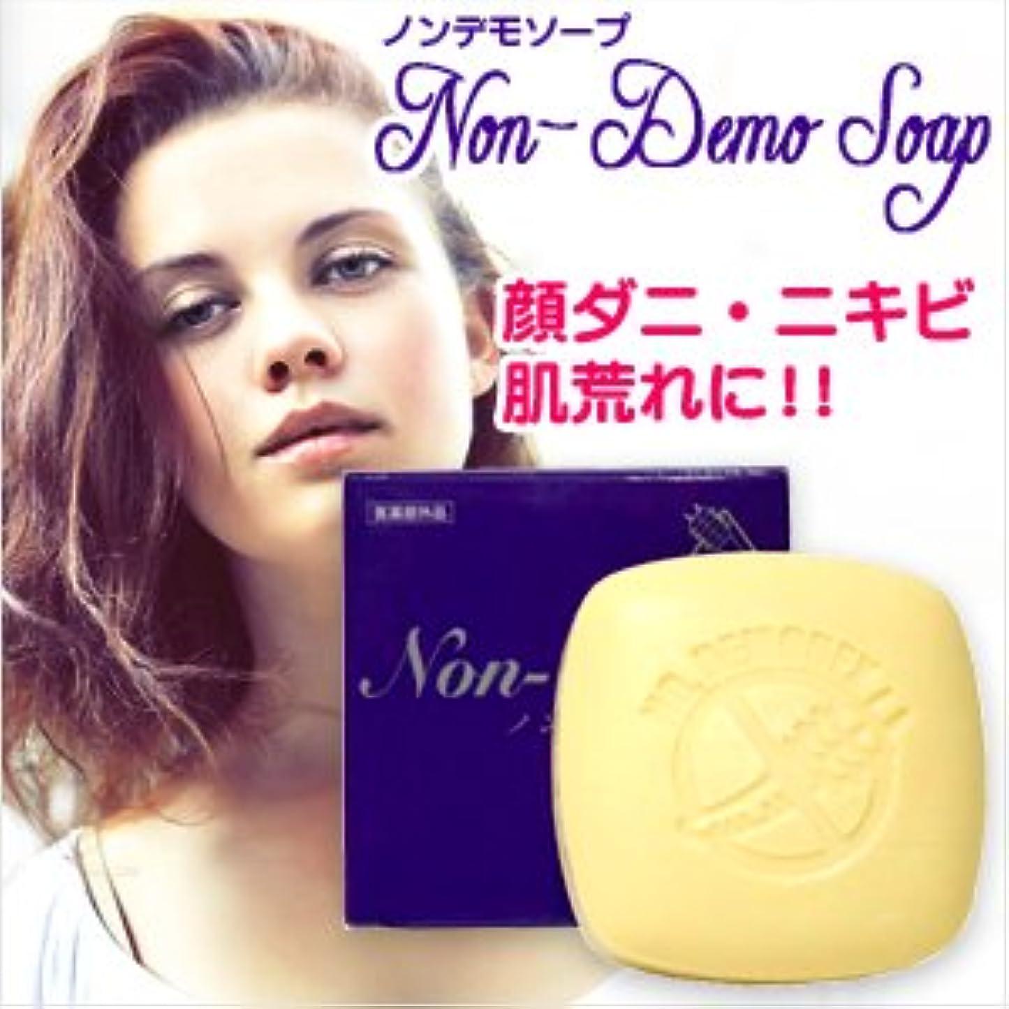 シュリンクレコーダーソフトウェア(医薬部外品) 顔ダニ石鹸 ノンデモソープ (Non-Demo Soap) 130g