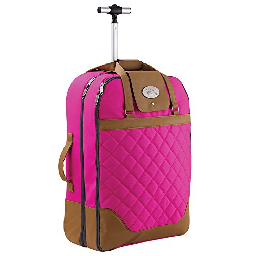 Cabin Max Monaco Dress and Suit Carrier Hand Luggage Suitcase 55x40x20cm ƒ