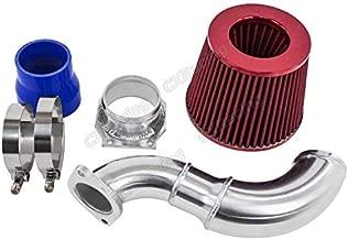 Turbo Cold Air Intake Pipe Filter MAF Flange Kit For S13 SR20DET SR20