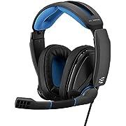 EPOS I Sennheiser GSP 300 Gaming Headset Kopfhörer, Geräuschunterdrückendes Mikrofon, Flip-to-Mute, Ergonomisch, Ohrpolster, Kompatibel mit PC, Mac, PS4, PS5, Xbox Series X, Xbox One, Nintendo Switch
