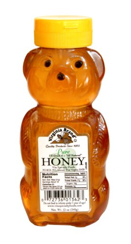 Virginia Brand Pure Honey, 12 oz - Amazon $3