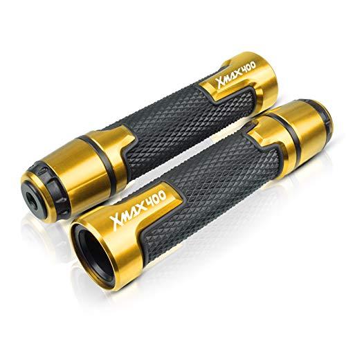 Para Y-AMAHA XMAX400 XMAX 400 X-MAX 400 7/8'22mm Manillar De Motocicleta Empuñadura De Manillar Moto (Color : Gold)