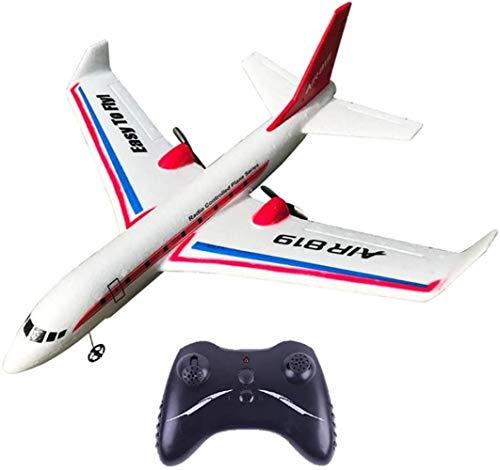 ZCX 2,4 GHz de Control Remoto Aviones Radio ala Fija Planeador Drone Juguetes de simulación de Aviación Modelo hacia atras Bimotor Seis Ejes giroscopio Avión de Control Remoto
