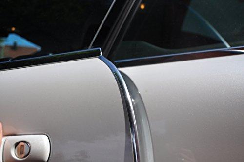 4 Meter Türkantenschutz Chrom Türrammschutz Gummi schützen Sie effektiv Ihren kostenbaren Auto Lack