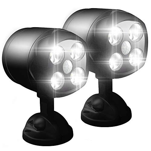 LED Motion Sensor Spotlights