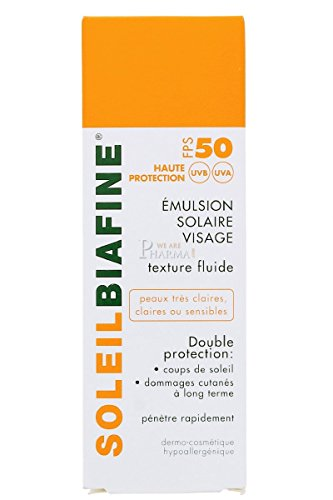 JOHNSON&JOHNSON - Biafine Emulsion Solaire FPS 50 Visage Soleilbiafine 50ml - CAE6B9DB0DDF2