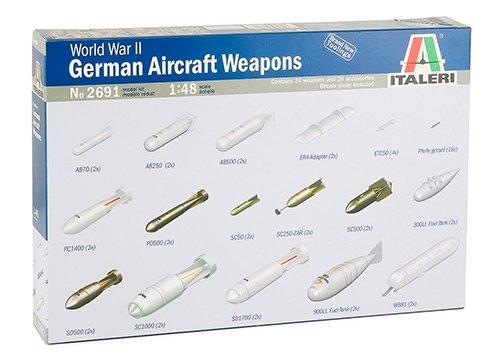 イタレリ 1/48 WWII ドイツ軍航空機用兵装セット