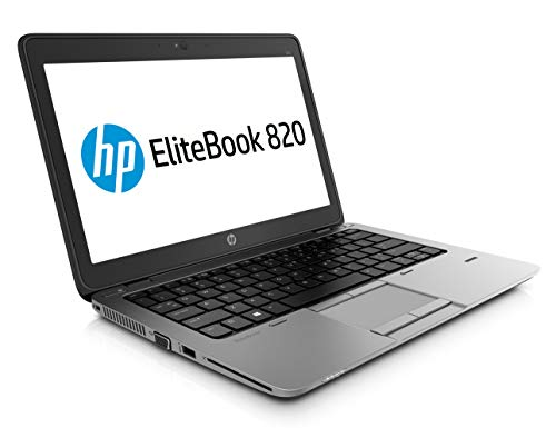 HP EliteBook 820 G3 12,5 Zoll Intel Core i5 256GB SSD Festplatte 8GB Speicher Windows 10 Pro MAR UMTS LTE Webcam Fingerprint Tastaturbeleuchtung Notebook (Generalüberholt)