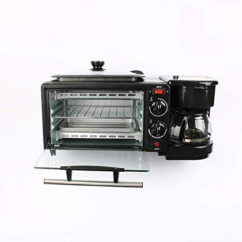 LXYZ Espressomaschine, Küche liefert 3 in 1 elektrische Frühstücksmaschine 220V Toaster Backofen Kaffeemaschine Pizza Eierkuchen Backofen Bratpfanne Brotbackmaschine