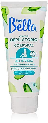 Creme Depilatório Corporal com Aloe e Vera 100g, Depil Bella