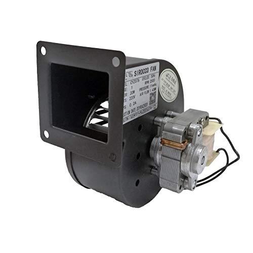 Ventiladores centrífugos Ventilador Ventilador 20w Estufa Industrial Ventilador de caldera de chimenea con motor de alambre de cobre 220v