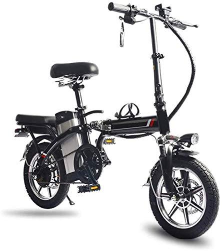 Bicicleta eléctrica Bicicleta eléctrica por la Mon 14' Bicicleta eléctrica/Plegable E-Bike/conmuta Bicicletas con Marco Plegable de la aleación, batería de Litio de 48V de Iones de Litio recargabl