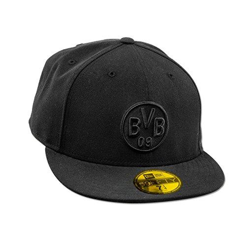 Borussia Dortmund BVB-Kappe 59FIFTY (schwarz) S