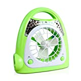 MUMUMI Fans, Mini Fan, Modern Hogar Mini Onlineless Portable 2,Verde