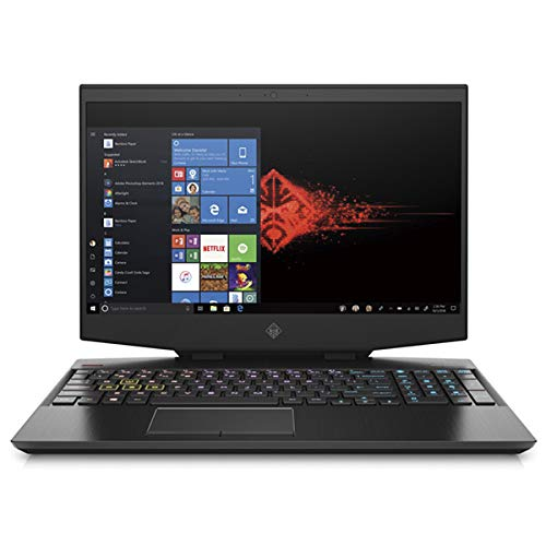HP Omen 15-dh0007ng, Black, Intel Core i7-9750H, 16GB RAM, 512GB SSD+1TB SATA, 15.6' 1920x1080 FHD, 8GB NVIDIA GeForce RTX 2070MQ, HP 1 YR WTY, German Keyboard + EuroPC Warranty Assist, (Renewed)