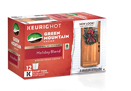 Green Mountain Holiday Blend K-Cups (12 Count)