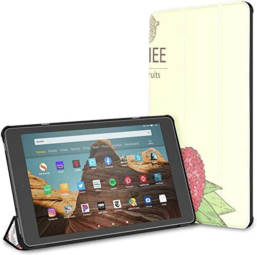 Custodia per tablet Chinese Delicious Lychee Fire Hd 10 (9a settima generazione, versione 2019 2017) Custodia KindleE-readerCustodia KindleFireHd10Custodie e cover Auto Wake Sleep per tablet da