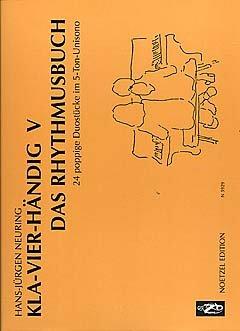 KLAVIERHAENDIG 5 - DAS RHYTHMUSBUCH - arrangiert für Klavier 4händig [Noten/Sheetmusic] Komponist : NEURING HANS JUERGEN