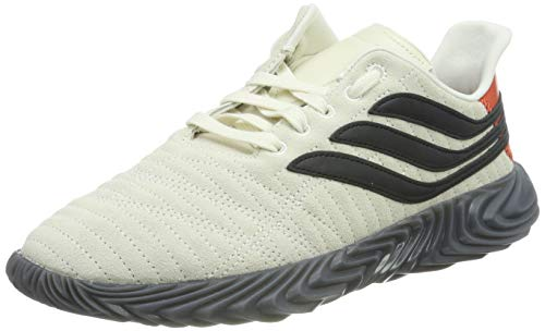 adidas Sobakov, Zapatillas de Gimnasia Hombre, Blanco (Off White/Core Black/Raw Amber Off White/Core Black/Raw Amber), 44 2/3 EU