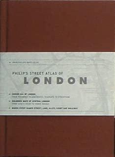 Philip's Street Atlas of London (Philip's Street Atlases)