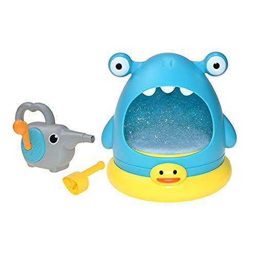 FITYLE Juguete de baño para Burbujas de bañera para bebés niños Juguetes de baño Grandes Regalos para niños pequeños de 1 2 3 4 5 6 años de Edad niña - Azul